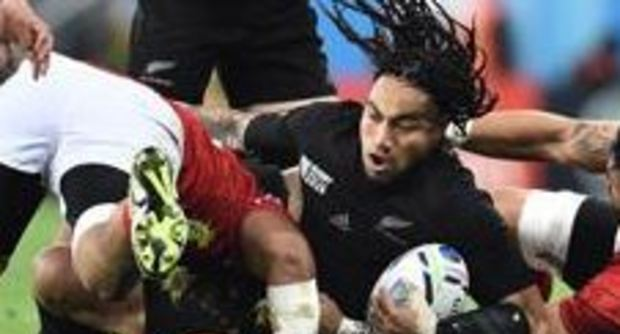 Rugby World Cup, gli All Blacks demoliscono anche Tonga: 47-9